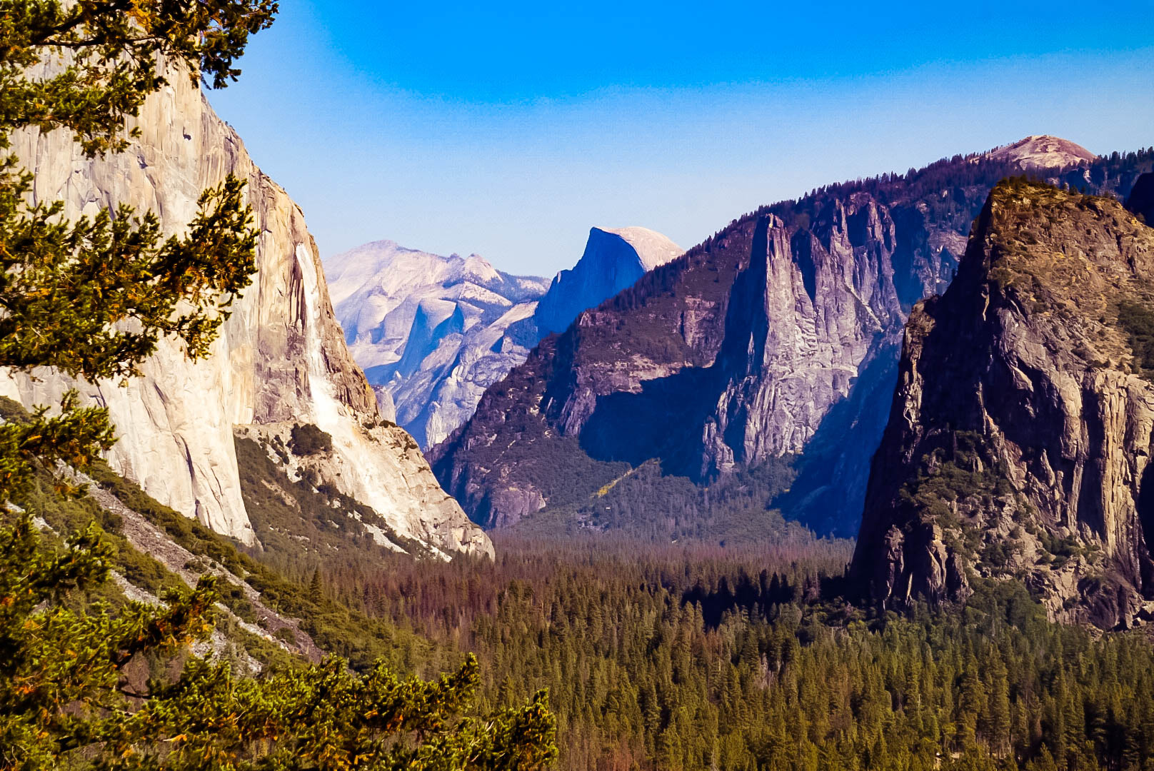 Yosemite National Park, California, Half Dome